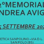 2° Memorial ANDREA AVIGO    15 Settembre 2021 -Campionato provinciale Master nei 200 M/F e 3000 solo Femminile